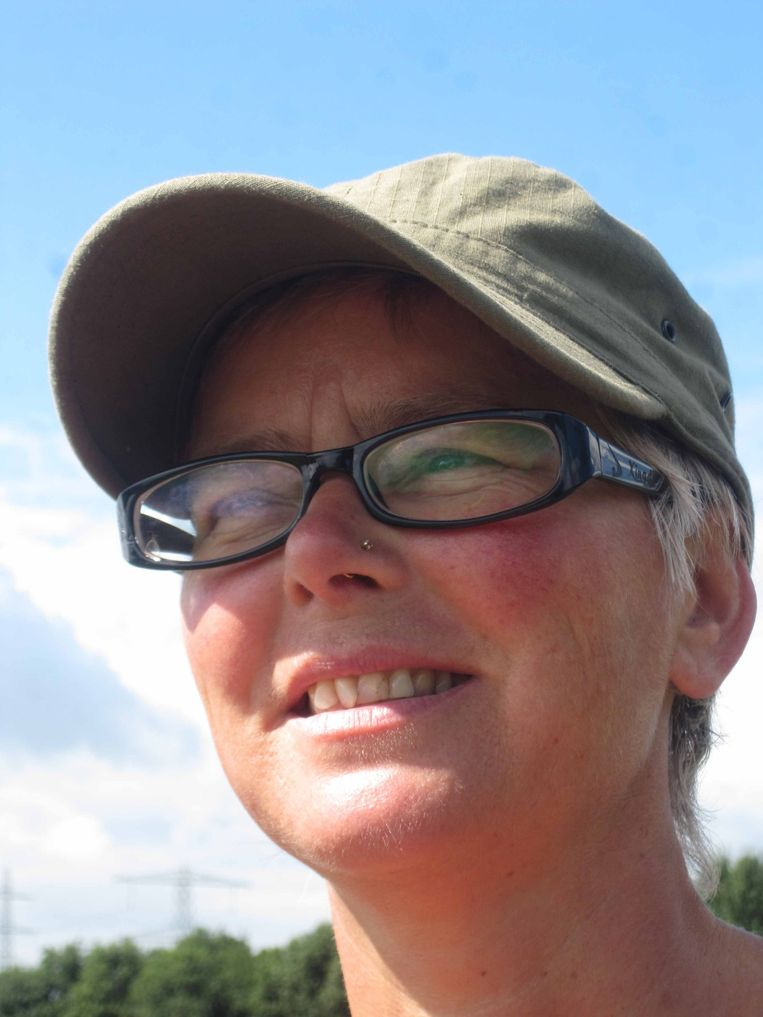 Lucia de Vries in Nepal. Beeld Trouw