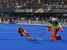 Hockeyers grijpen na zinderende shoot-outs naast wereldtitel
