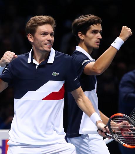 Herbert/Mahut en Sock/Bryan naar finale ATP Finals