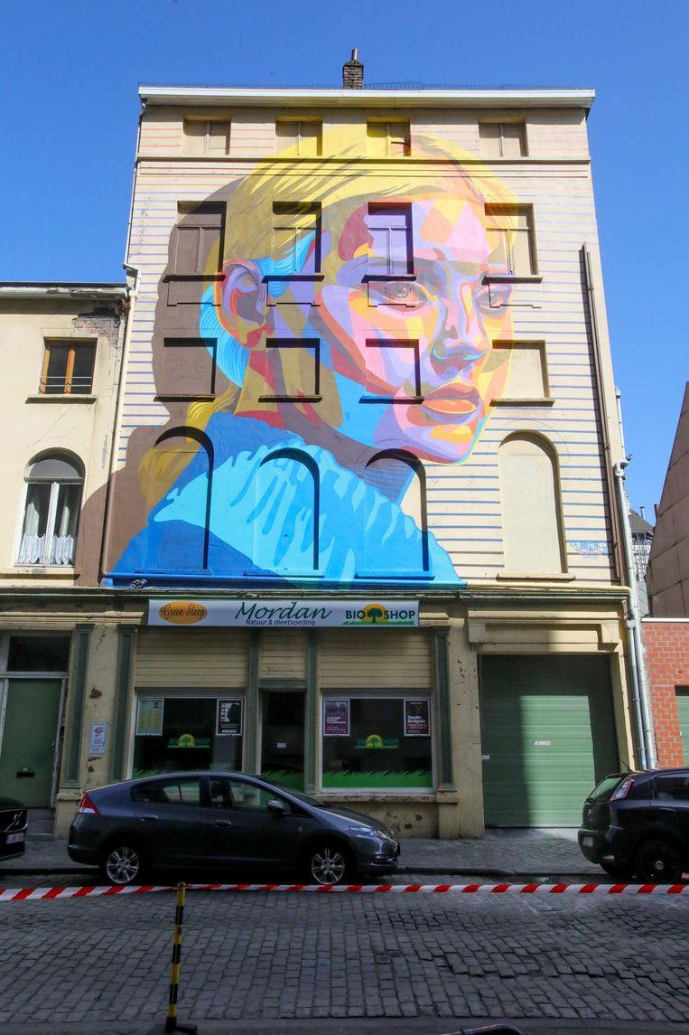 'Dourone', een van de kunstwerken achter De Grote Post.