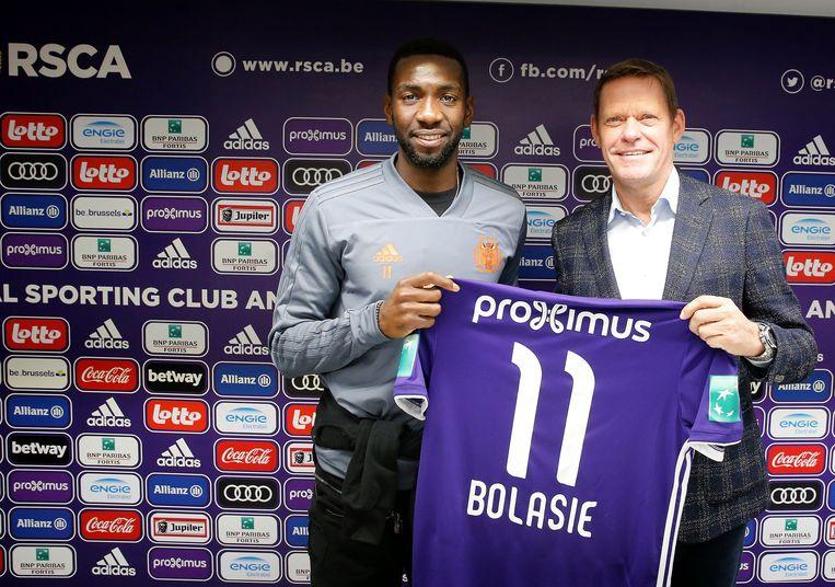 Yannick Bolasie komt Anderlecht versterken.