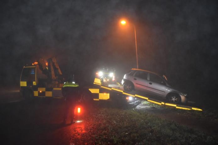 Ongeval in de mist