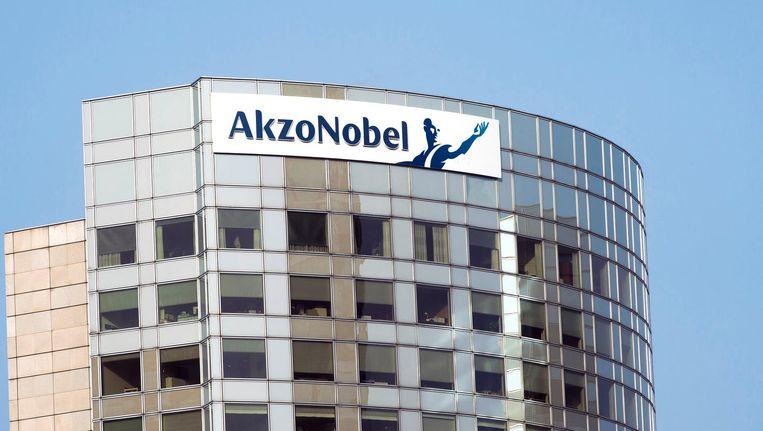 Het hoofdkantoor van AkzoNobel in Amsterdam. Beeld anp