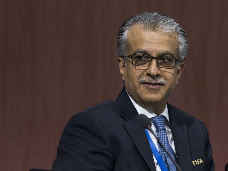 Sjeik Salman Bin Ebrahim Al-Khalifa. Beeld AP