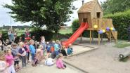 Gitokleerlingen bouwen zelf speeltoestel voor kleuters Kadrie