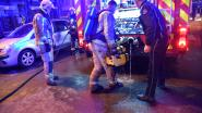 Café-uitbater gewond bij brandje aan Oudaan
