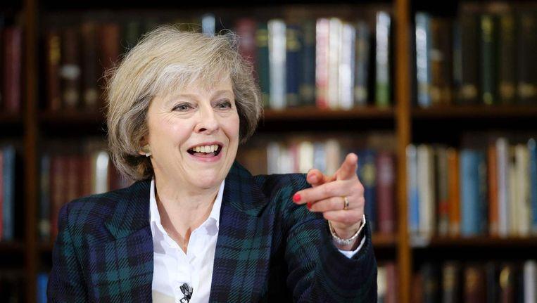 Theresa May, de opvolger van David Cameron? Beeld afp