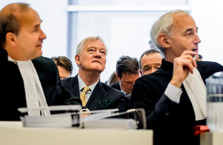 Antony Burgmans bij de zaak Elliott Advisors tegen AkzoNobel in de Ondernemingskamer. Beeld anp