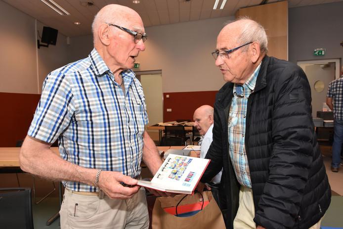 Cees Burggraeve (l) en Christiaan Jacobs.