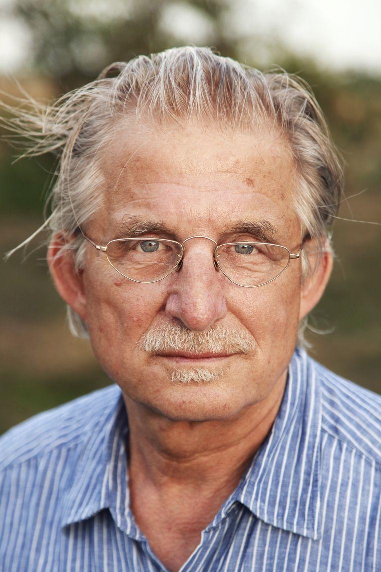 Portret van Frans Bromet in 2012. Beeld Frank Ruiter