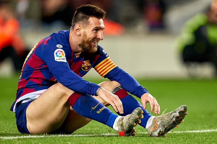 Lionel Messi maakte op 9 november een hattrick tegen Celta de Vigo.