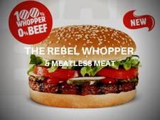 Nederlandse Vegetarische Slager levert vegetarische Whopper aan Burger King
