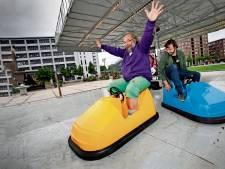 Botsauto's kiezen eigen weg tijdens Dutch Technology Week op Strijp-S