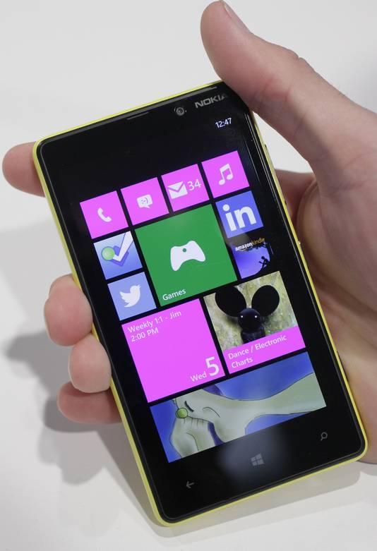De Lumia 820.