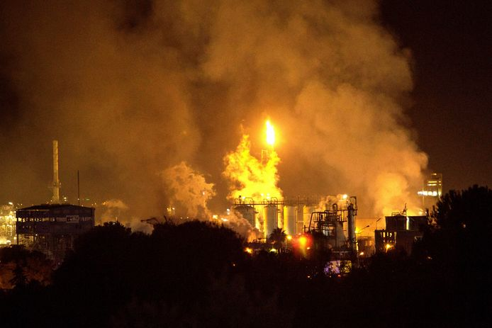 Explosie in Tarragona
