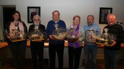 Afscheid van zes gemeenteraadsleden