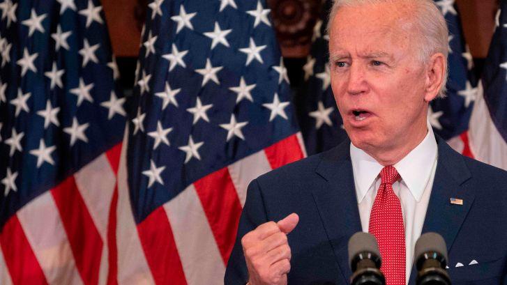 """Biden accuse Trump d'avoir transformé les États-Unis en """"champ de bataille"""""""