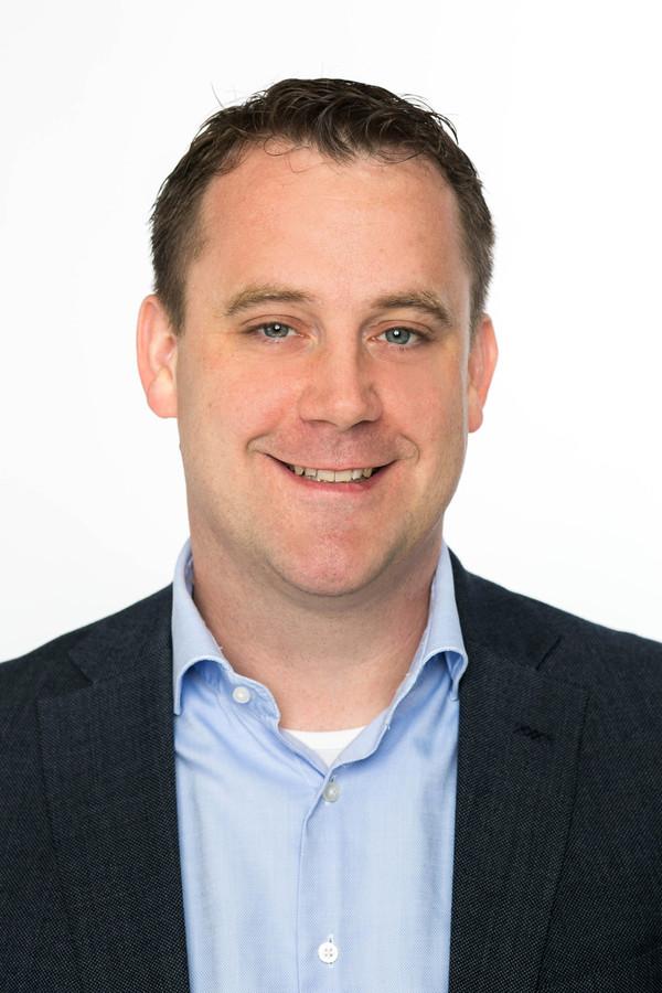 Wethouder Marc Rosier van Zoetermeer.