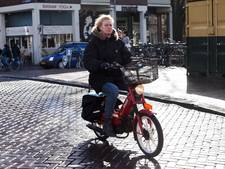 Snorfiets eerder van fietspad dan verwacht
