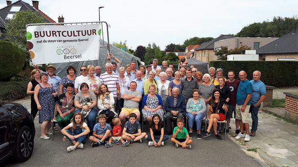 De bewoners van de Reiberg vierden feest tijdens het achtste Buurtfeest.