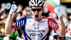 Démare antwoordt met de pedalen op uithaal Greipel, Fransman wint na massasprint in Pau