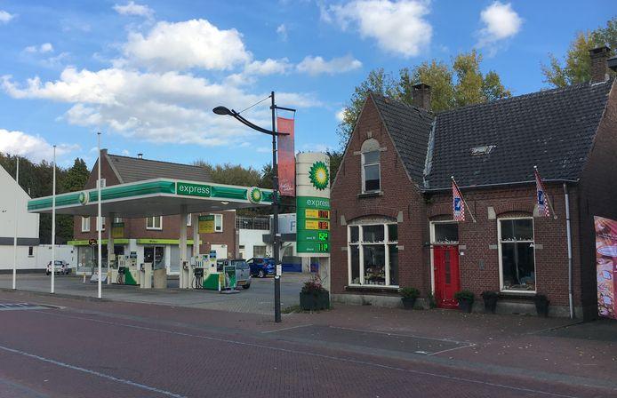 De locatie voor de nieuwe AH-supermarkt.