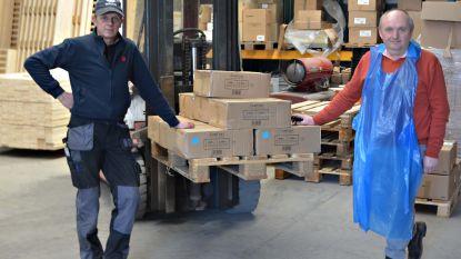 Westvlees schenkt 10.000 beschermschorten aan Jan Yperman