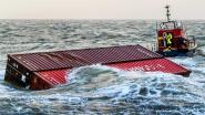 Bergingsoperatie van overboord geslagen containers op Noordzee opnieuw uitgesteld door onstuimig weer