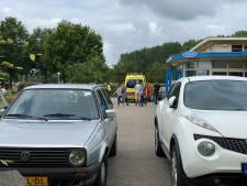 Man met ambulance afgevoerd na ongeluk met slijptol op camping in Zeewolde