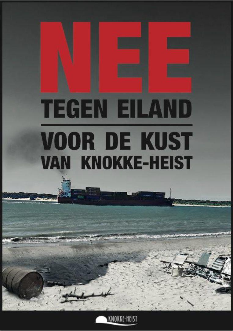De affiche van de campagne.