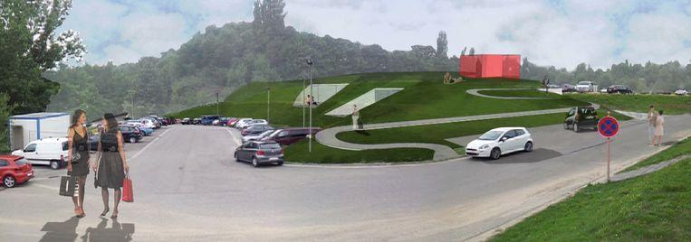 3D-voorstelling van het Ronald McDonald Huis