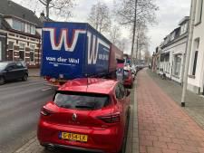 Minder vrachtverkeer op centrumring Bergen, maar veiligheid laat te wensen over