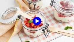 Party in een potje: dit dessert neem je overal mee naartoe