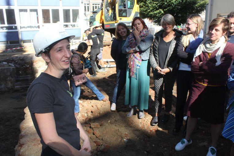 Archeologe Janiek De Gryse geeft een woordje uitleg.