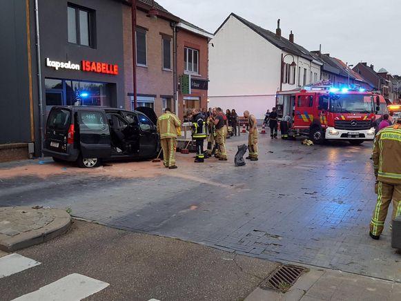 Het ongeval vond plaats in de August Nihoulstraat.