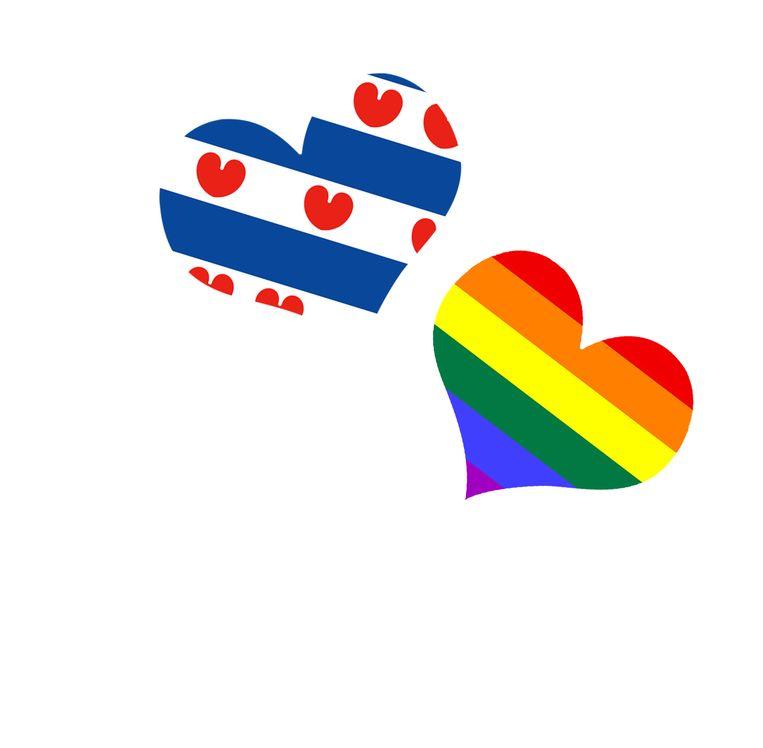 Na meer dan tien jaar keert het Friese skûtsje terug op de Canal Pride. Beeld Shutterstock