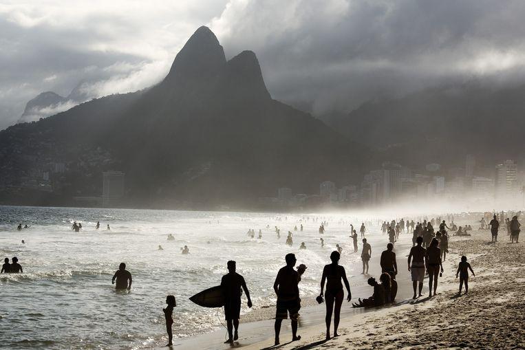 6. Strand: Ipanema, Rio de Janeiro. 'Het is er altijd erg druk, op een leuke manier. Het is goed mensen kijken.' Beeld Daniel Rosenthal/VK