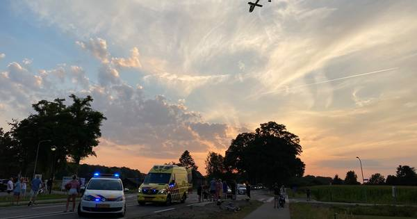 Traumahelikopter naar Warnsveld na ernstig ongeval.