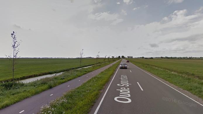 Gedeelte van de Oude Spoorbaan in Zevenhoven.