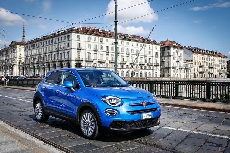 De Fiat 500X 2018 in de Urban-uitvoering. Beeld
