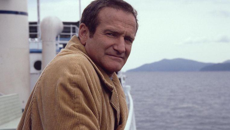 Robin Williams in Insomnia. Beeld .