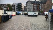 Zaterdagmarkt ligt op zijn gat: stad zoekt oplossing voor lege plaatsen