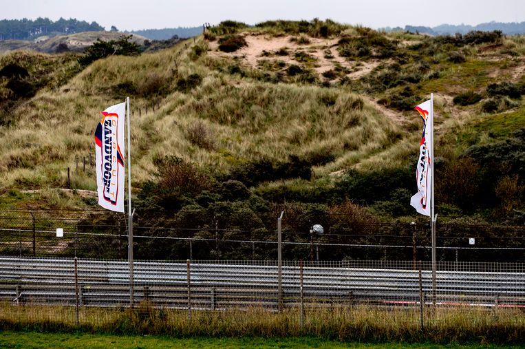 Het racecircuit van Zandvoort ligt midden in de duinen.  Beeld ANP