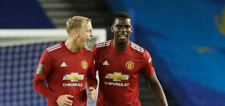 Van de Beek met United langs Veltman en co