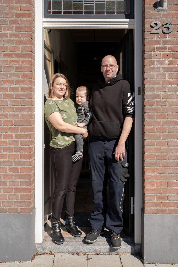 Bianca, Marco en Liam Heeren. #Wijzijnthuis