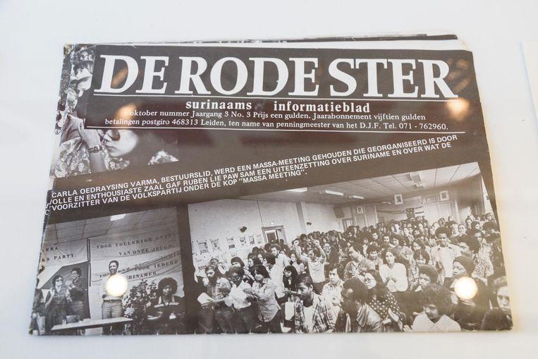 De Rode Stier, Surinaams informatieblad Beeld Tammy van Nerum