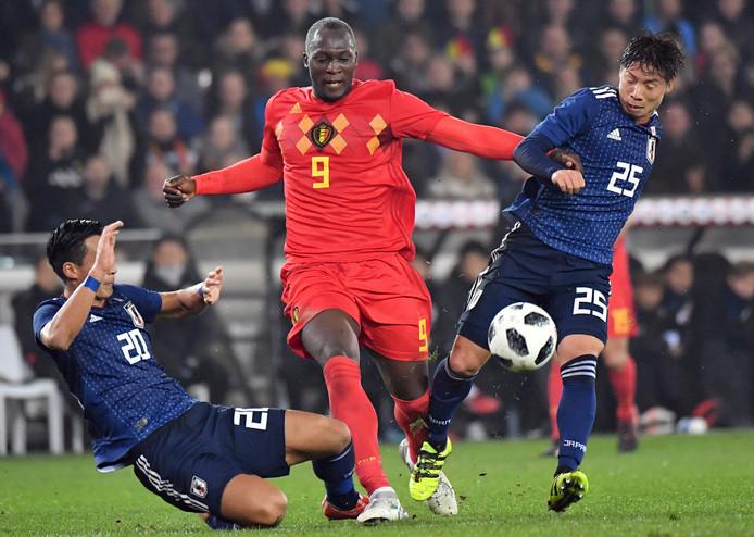Romelu Lukaku scoorde het enige doelpunt.