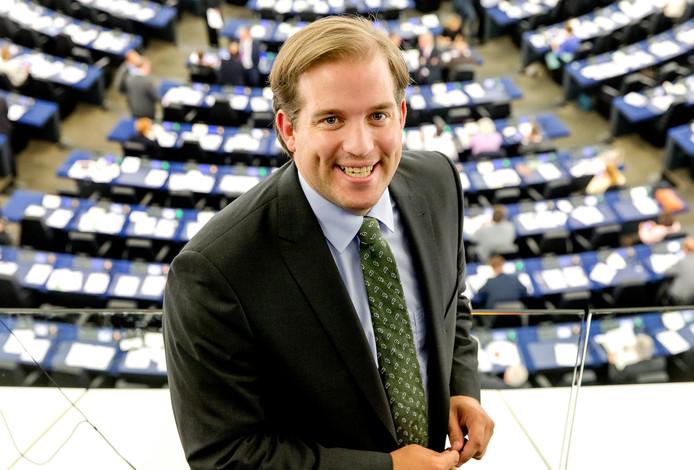 Jeroen Lenaers, nummer 2 op de CDA-lijst voor de Europese parlementsverkiezingen.