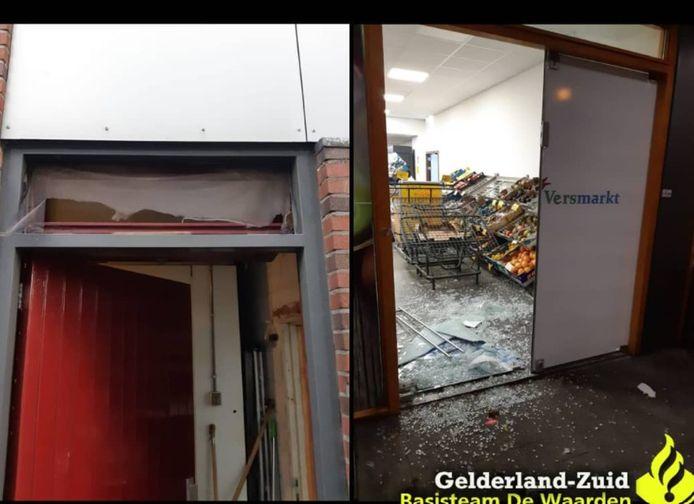 Schade bij beide supermarkten in Culemborg.