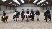 Jonge ruitertjes ontdekken horseball